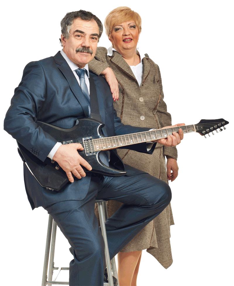 mann og dame Tranby