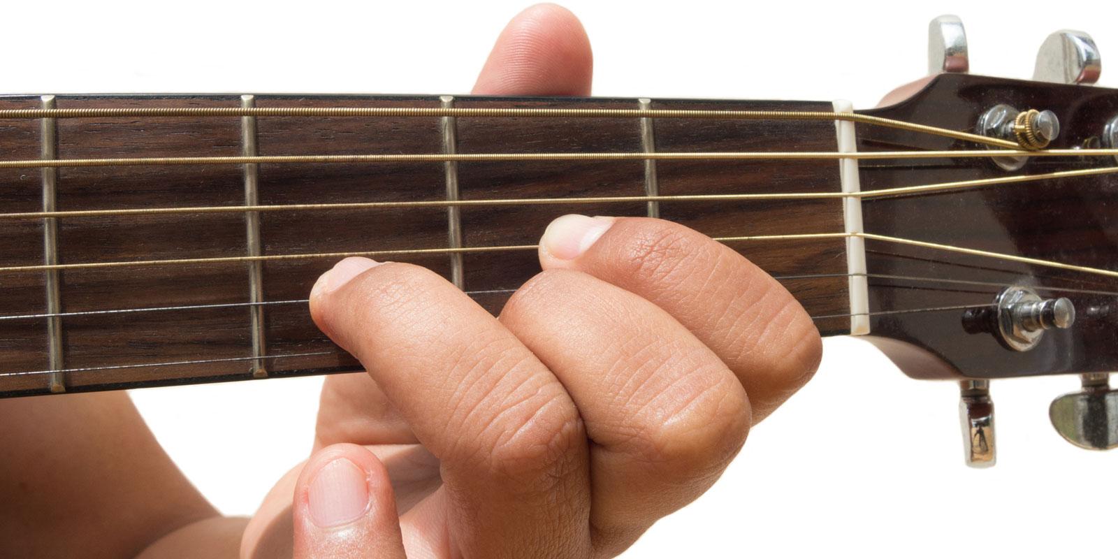 De 9 vanligste gitargrepene