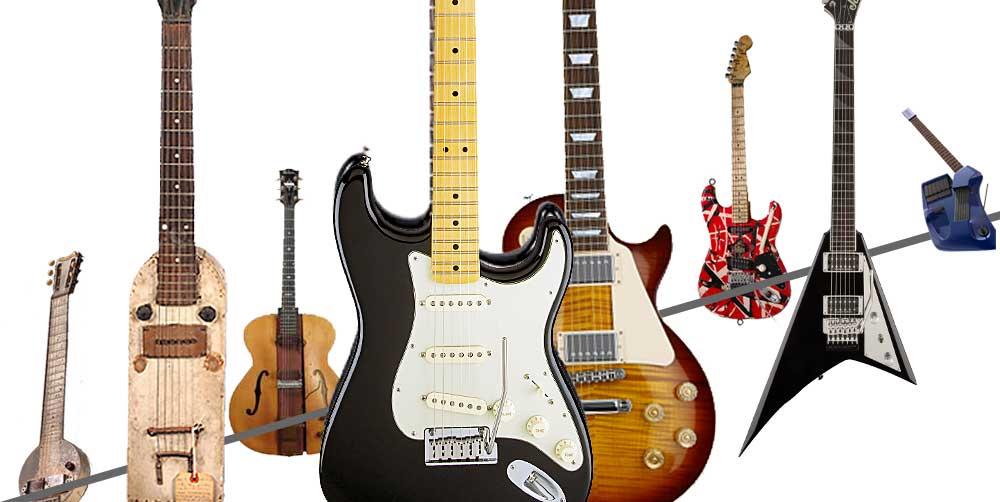 Tidslinje: Den elektriske gitarens historie