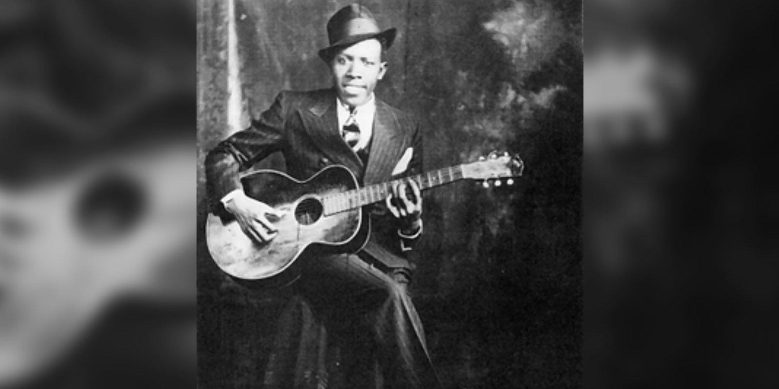 """Robert Johnson - den gåtefulle """"kongen av Delta Blues"""""""