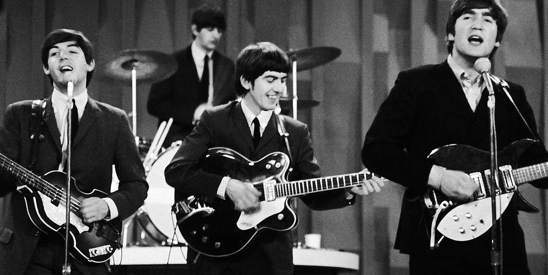 Topp 10 Beatles-sanger på gitar